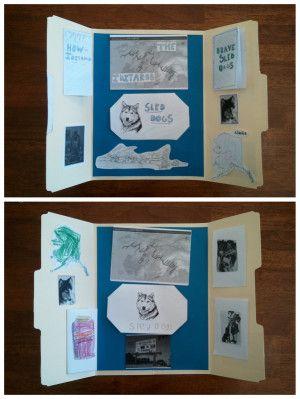 Unit Study Iditarod Lapbook Minibooks