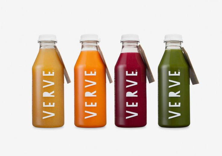 Verve Juices by Bob Studio - The Greek Foundation