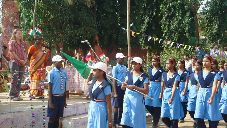 Republic Day, 2012 celebrated at one of our schools in Odisha