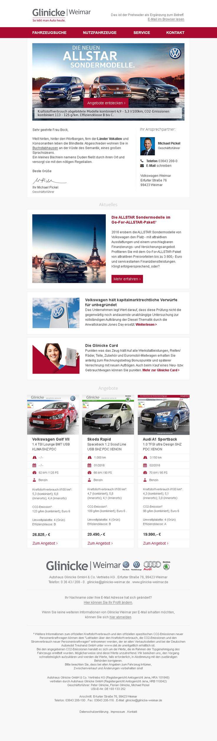 #Newsletterdesign #E-Mail-Marketing #Newsletter #EMM