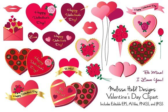 Valentine S Day Clipart Valentines Day Clipart Valentines Envelopes Clip Art