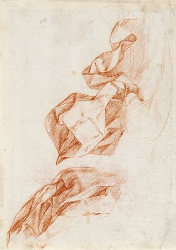 Study of drapes - Antonio del Castillo Saavedra — Google Arts & Culture