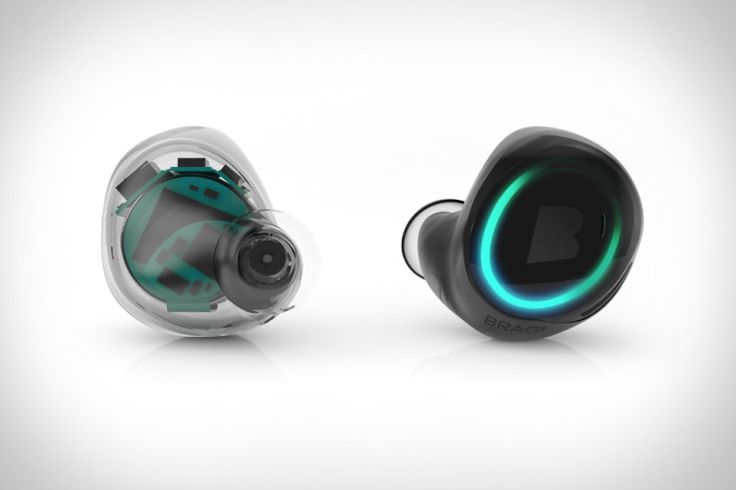 Dash; in-ear wireless ear buds. Packed with Bluetooth enabled Smartphone features.