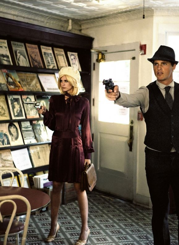 Clyde inspiration | Bonnie and Clyde | fashion