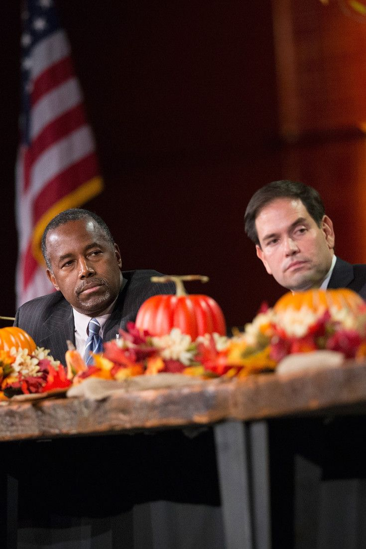 The American Hunger Games: Top Republican Candidates Take Economic Policy Into the Wilderness