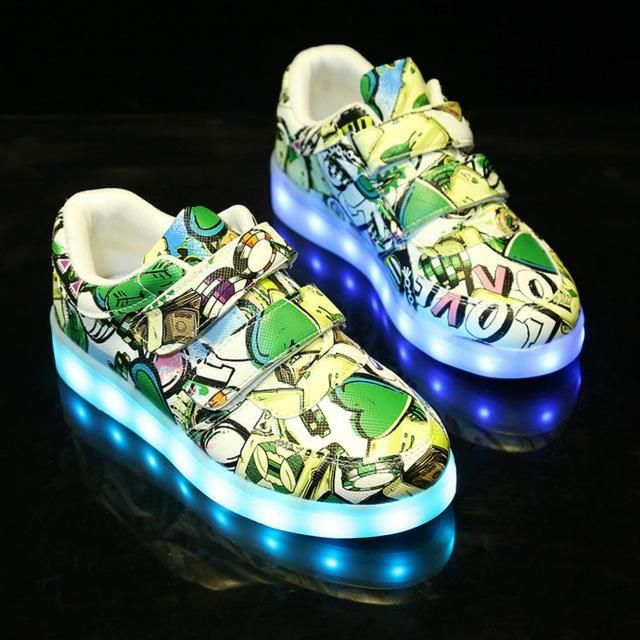 Funky LED Sneakers for Kids
