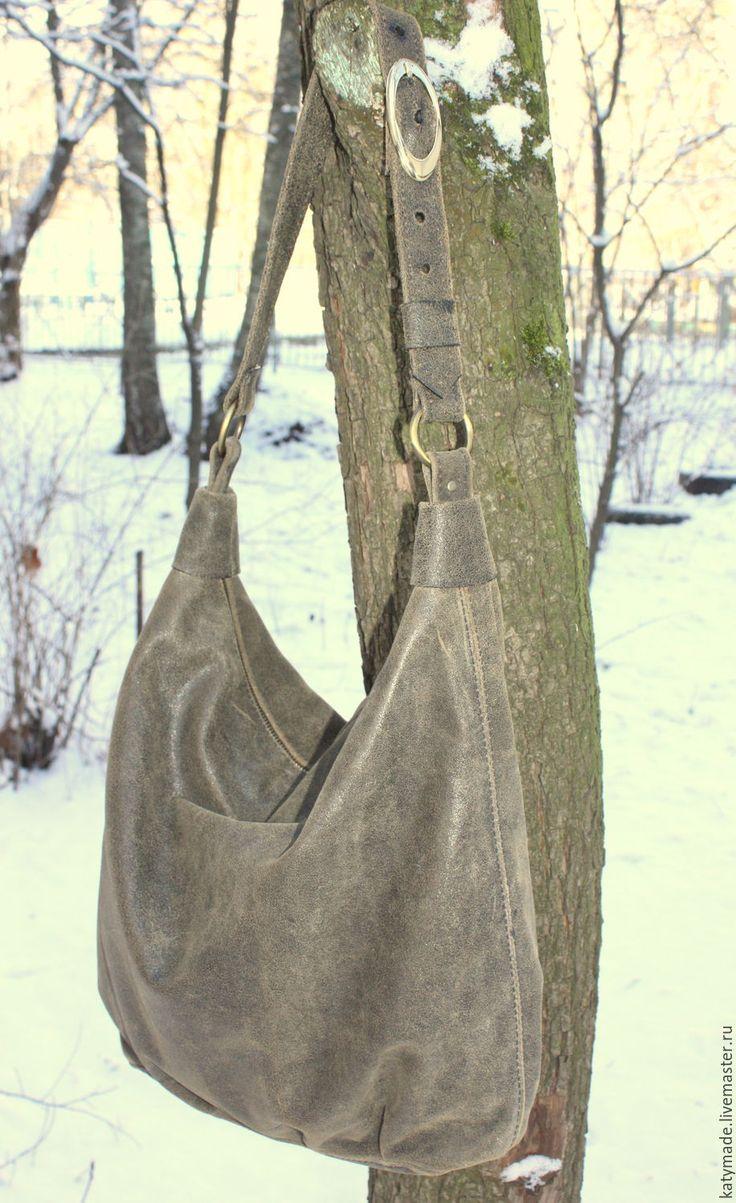 """Купить Сумка женская """"Спутница"""" натуральная кожа - коричневый, женская кожаная сумка"""