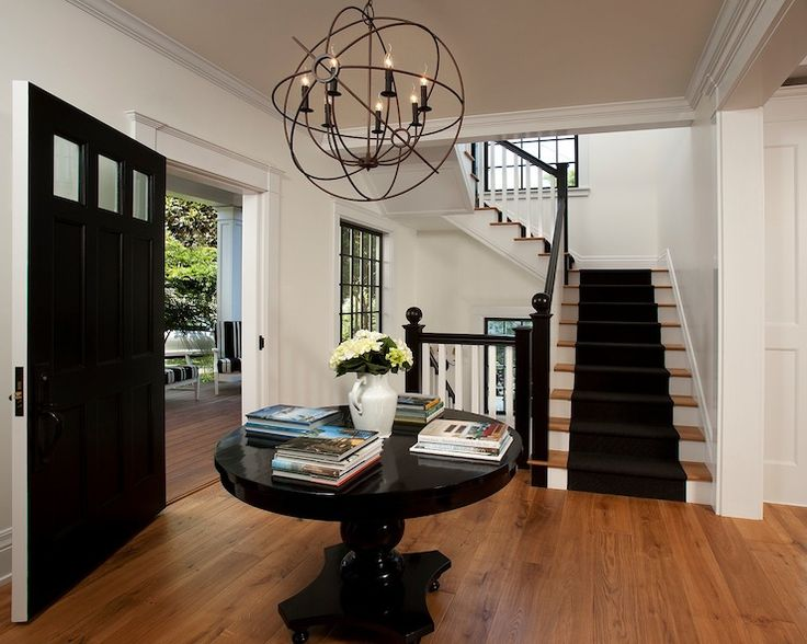 Vallone design restoration hardware foucault 39 s iron orb chandelier rustic iron hanging over - Restoration hardware entry table ...