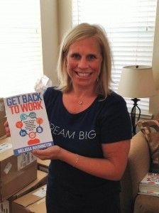 New book: Get Back to work has arrived! www.getbacktowork.biz #getbacktowork