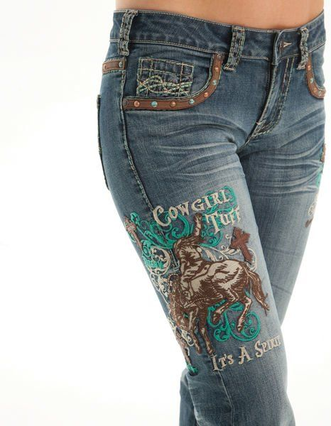 Cowgirl Tuff Co. Jeans UnBELIEVEable Spirit