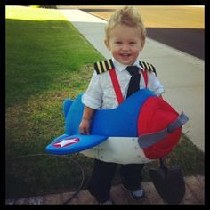 baby pilot costume - Google Search