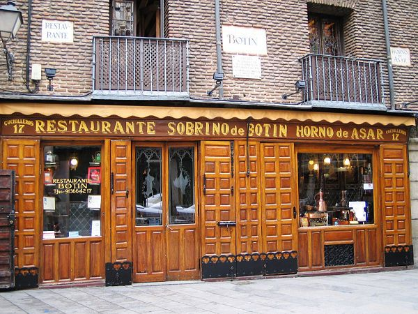 Listed by Guinness World Records as the world's oldest restaurant, Botin has been turning out impeccably roasted meats from its original Castilian-style cast iron wood burning oven since 1725 - nearly three centuries. This is the oldest restaurant still running in Spain, and one of the oldest in the world.
