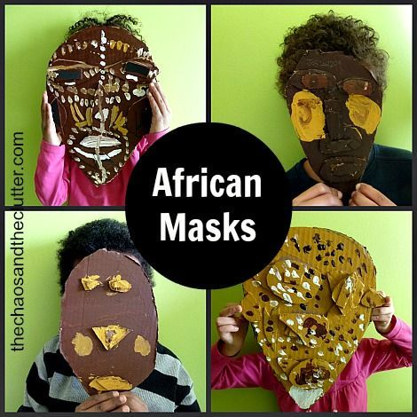 African Masks Craft