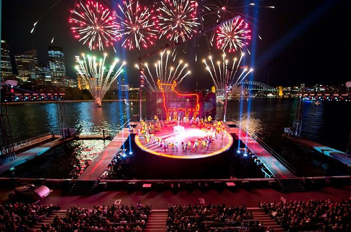 Carmen. Handa Opera on Sydney Harbour. Scenic design by Brian Thomson. Will be showing in March-April 2017