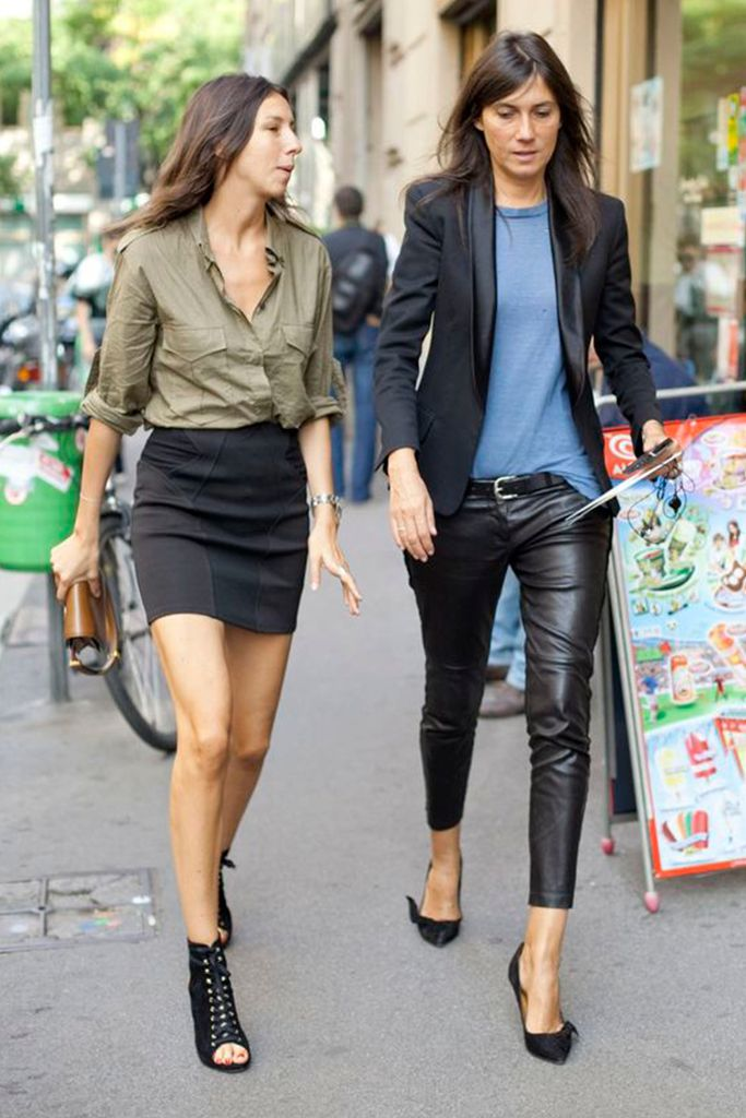 #basic #streetstyle #outfit #looks #basicos #inspiracion #inspiration #leather #black #pants