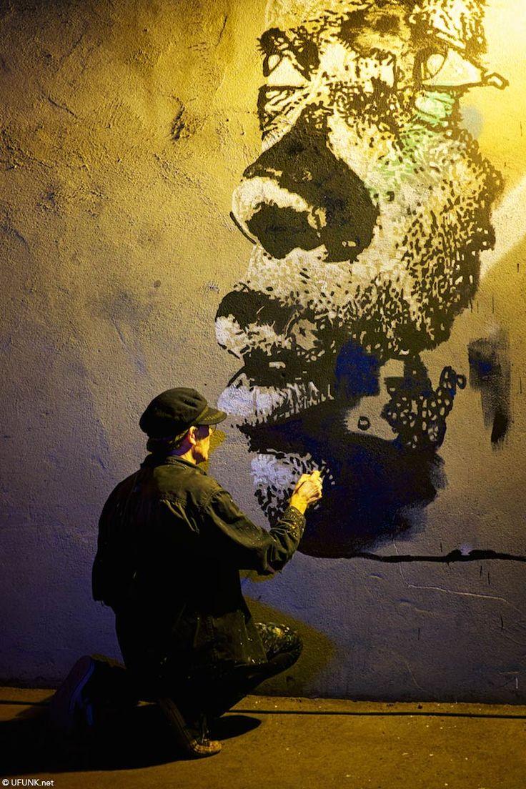 Nuit Blanche 2014 – Carte Blanche à Jef Aérosol et autres créations Street Art