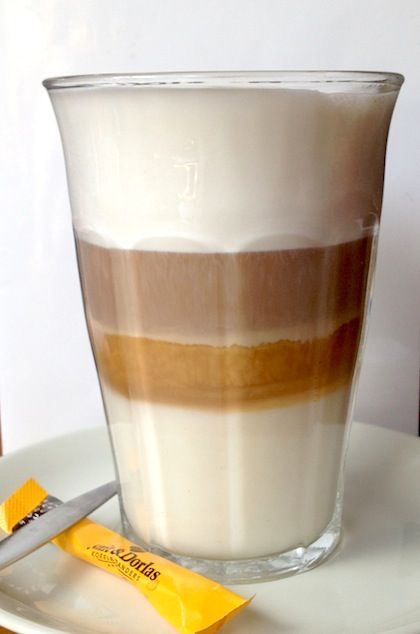 Italian coffee #latte #macchiato