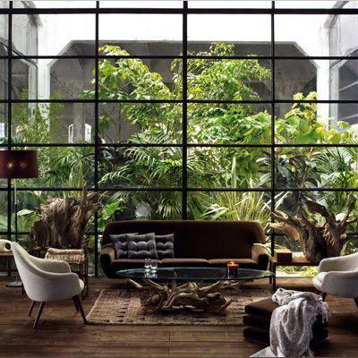 fenêtre, ouverture, déco, décoration, lumière, maison, décor, ancien, moderne, élement, intérieur, architecture, rideaux