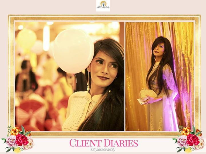#StyleSellFamily #ClientDiaries- Feel special and beautiful inside and out with your #StyleSell #Outfit. For pricing or order details, kindly send us a message in Facebook or visit our showroom.  Our Shop address: Showroom 1: South Avenue, Gulshan 1 (Just beside Gulshan 1 DCC Market on the main road). Showroom 2: Police Concord Plaza, Level 1, Shop no: 234, StyleSell. Helpline: 04478787877 #fashion #style #clothing