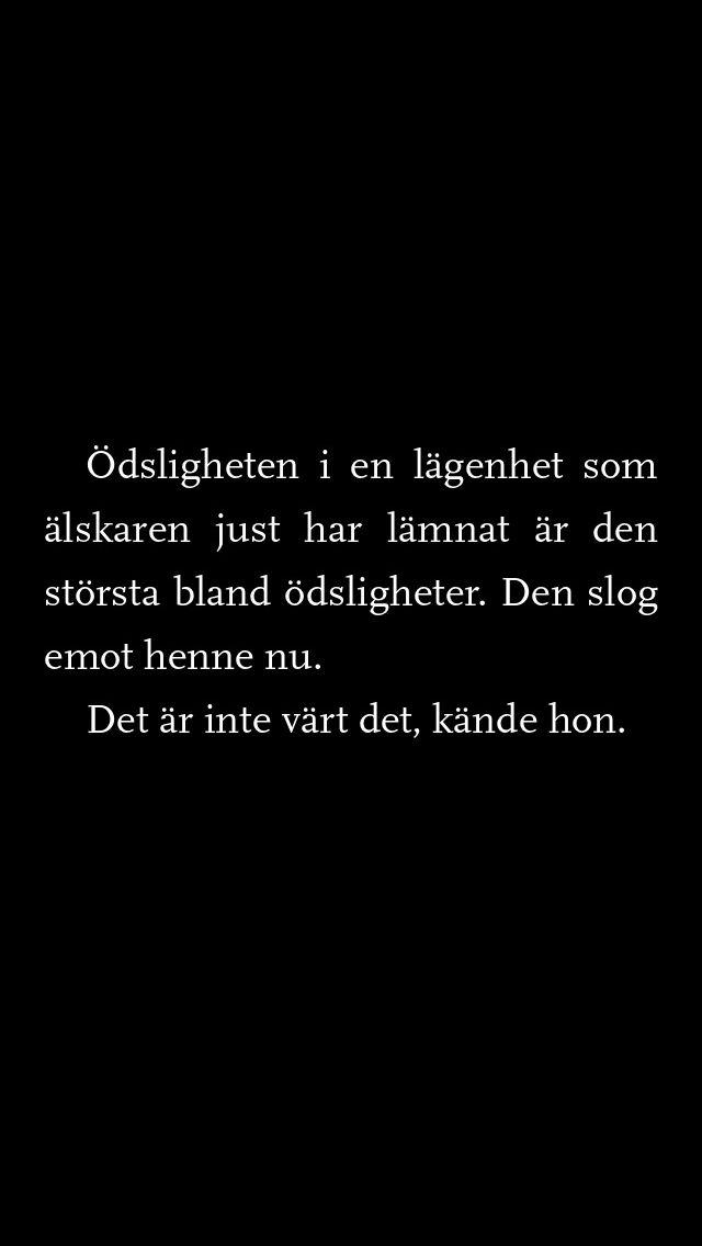Egenmäktigt förfarande - Lena Andersson ❤️❤️❤️