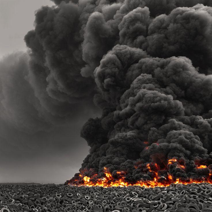 Kuwait Tire Fire