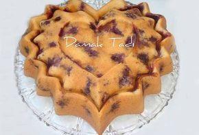 İrmikli Böğürtlenli Pasta Tarifi