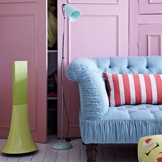 Pastel living room   Living room colour schemes - 10 of the best   housetohome.co.uk