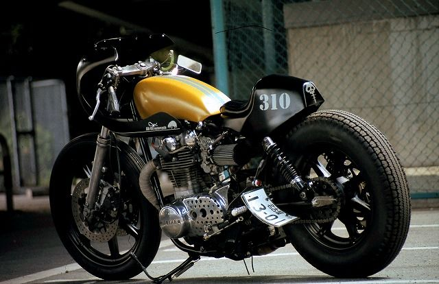 Yamaha XS650 BALLE FULLCOWL AN-BU Custom cafe racer