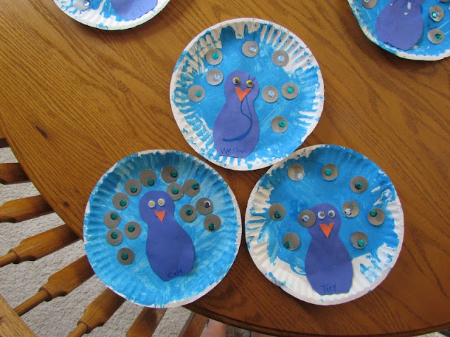 peacock paper plate craft · Paper Plate CraftsPaper ... & 16 best Paper plate crafts images on Pinterest | Paper plates ...