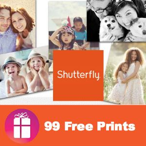 Take lots of photos over the weekend? This Shutterfly deal comes at the perfect time! Order 99 instead of 101 to save $2 on s/h - 99 FREE PRINTS http://freebies4mom.com/99deal/