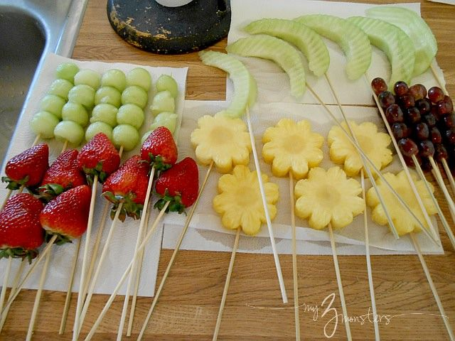mothers day diy ideas   My 3 Monsters: Mothers Day Gift Ideas: Edible Centerpiece