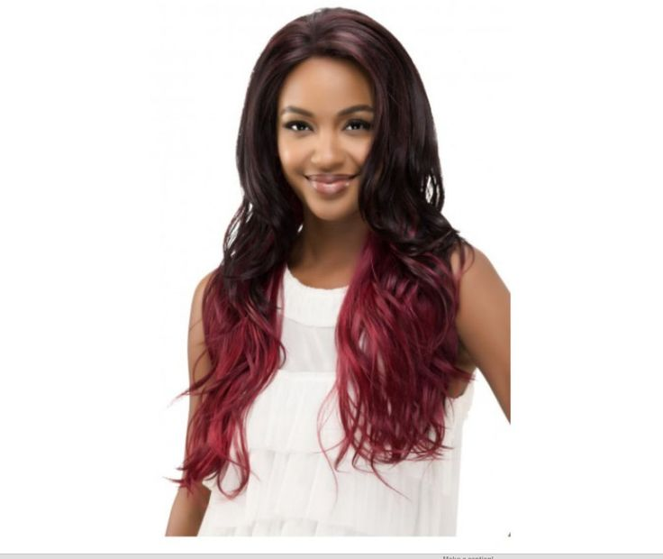 Michelle Vivica Fox Loose Deep Swiss Layered Front Lace Wig #VivicaAFox #Layered