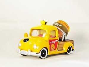 TAKARA TOMY TOMICA Disney Motors MIXER TRUCK Winnie the Pooh Diecast Mini Car Figure Orange