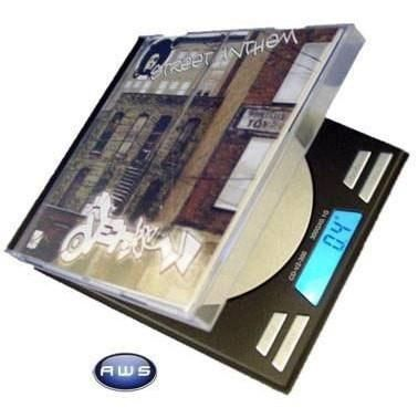 500g x 0.1g AWS Single CD Style Digital Scale - The Hippie House