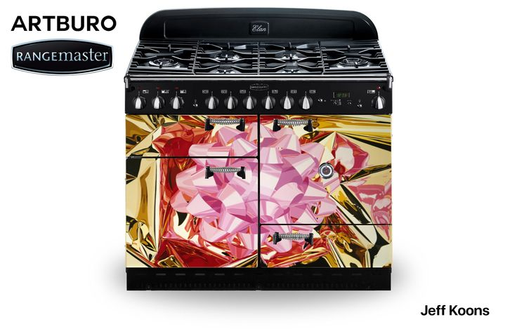 These ARTBURO RANGEmaster cookers are our new objects of desire.  The one-off cookers were hand-painted by our artists, with amazing artworks by  most popular artists in the world, such as Jackson Pollock, Wassily Kandinsky, Jeff Koons, Damien Hirst, Mark Rothko, Rene Magritte, Mel Bochner and Piet Mondrian.  Each cooker took as long as 375 hours to complete, and each one of them one of a kind.  Create the kitchen of your dreams with ARTBURO. #artburo #rangemaster #salonedelmobile
