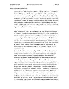 Last ned Artikkel om sosial kompetanse og spiseforstyrrelser