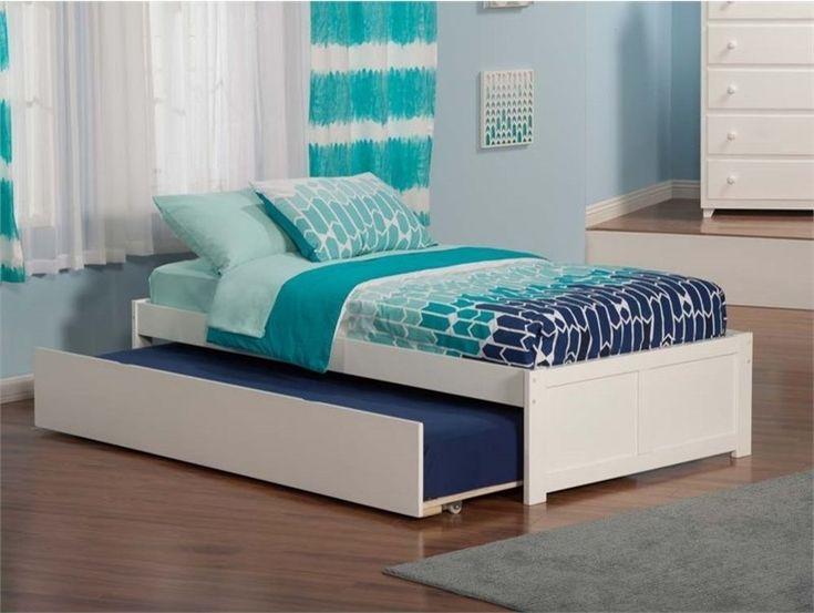 Atlantic Furniture Concord Urban Twin Trundle Platform Bed