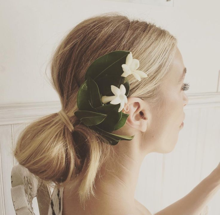 Whitney Port's wedding hair