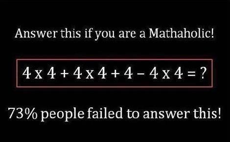 Solve This Simple Math Problem