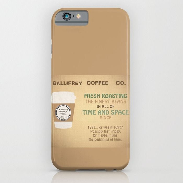 Doctor Who Gallifrey Coffee iPhone & iPod Case