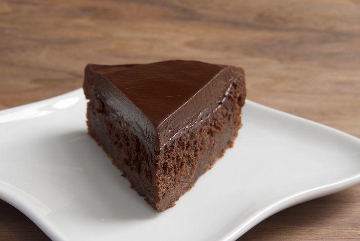 Chocolate Cake with Chocolate Ganache   Recipe   Flourless Chocolate ...