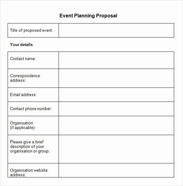 Event Planning Proposal Template Unique Sample Event Proposal Template 15 Free Documents In Pdf Event Planning Proposal Event Proposal Template Event Proposal
