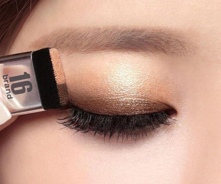 New 16Brand Double Color Quick Easy With Brush Super Matte Glitter Eyeshadow #Unbranded