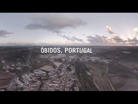 A 360 Tour of Óbidos, Portugal - YouTube