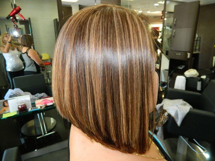 """""""Highlight haircut Irvine 92604 Highlight  A line bob Haircut highlight Irvine 92604 A-Line bob haircut Irvine"""""""