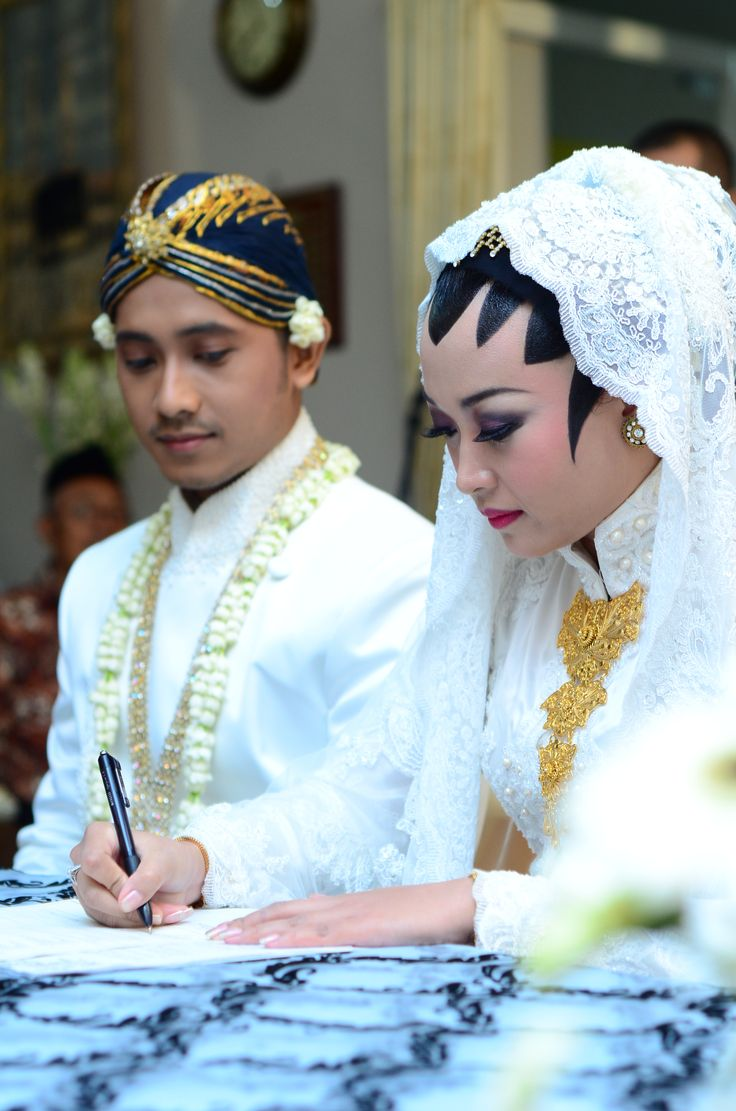 Akad nikah ❤️ #wedding #kebaya #Javanesewedding