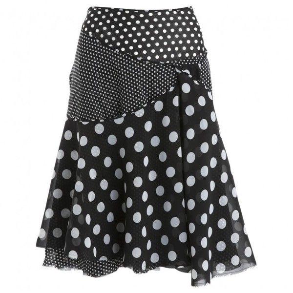 MID-LENGTH SKIRT JUNYA WATANABE (£250) ❤ liked on Polyvore featuring skirts, junya watanabe, junya watanabe skirt and mid length skirts