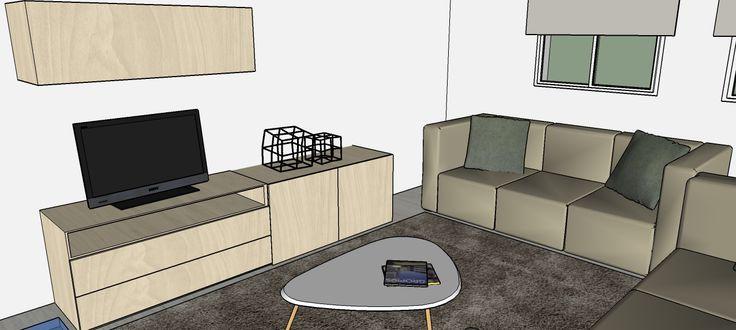 Infografía, Demeri estudio, Sketchup, 3D, Interior Design, Decoration, Rendering, Drawing, Picture, Dibujo, Perspectiva, Decor, Home Decor, Design, Decorador.