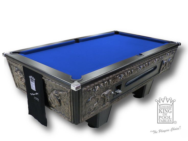 Pool Table - Coin Operated Big Five - UnitedKing