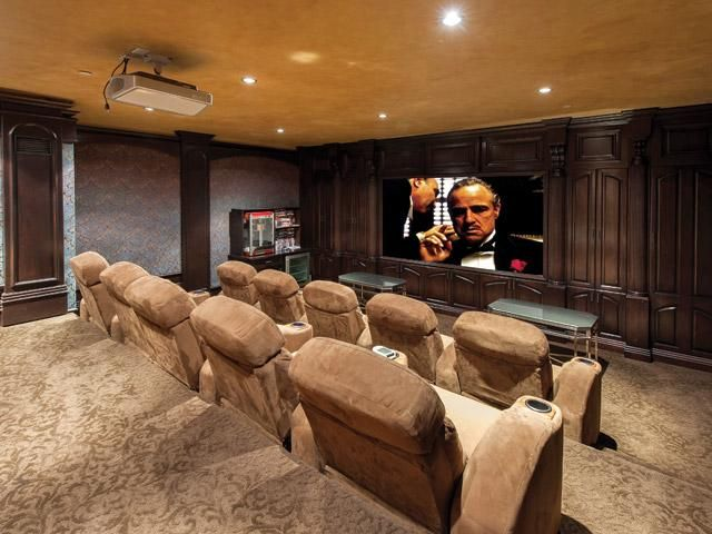 Pin by yvette tanner on media room pinterest for Homes for sale with hidden rooms